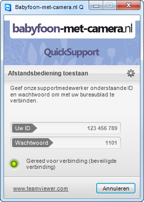Quicksupport tool